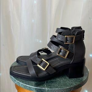 Rag and bone chunky heel sandal in 38.5